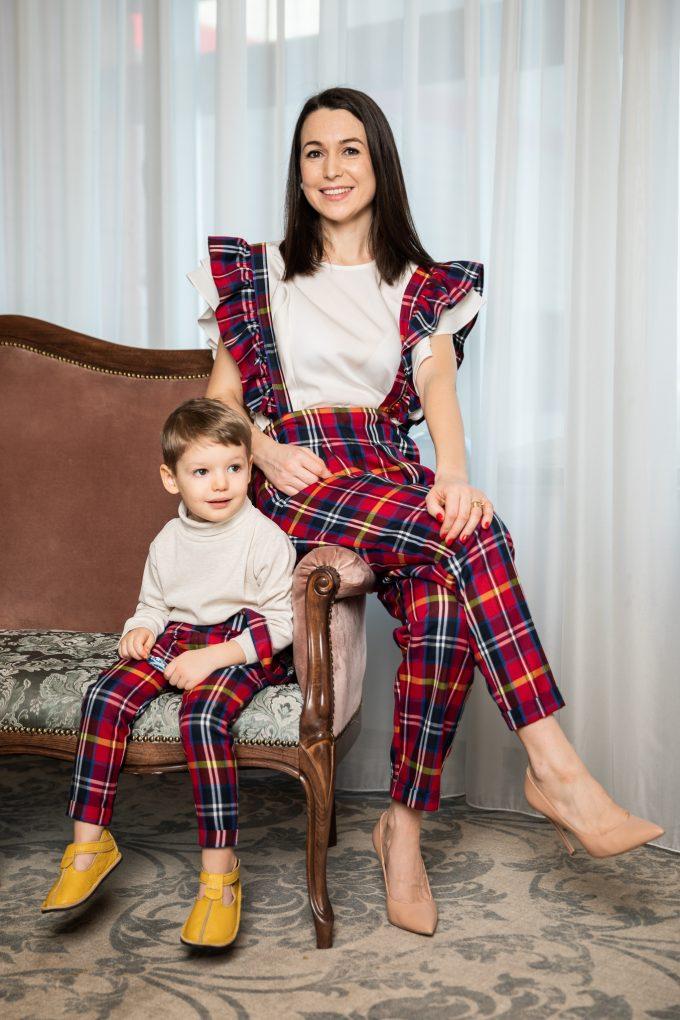 Set pantaloni mama-fiu